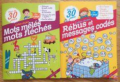 Les cahiers de jeux Larousse Messages, Jouer, Activities, Crossword, Activity Books, Notebook, Cabin, Children
