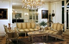 French living room furniture French Living Rooms, French Furniture, French Antiques, Contemporary, Modern, Living Room Furniture, Chair, Interior, Table