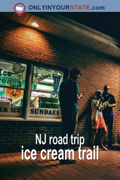 Travel | New Jersey | Adventure | Explore | Activities | Attractions | Things To Do | Ice Cream | Road Trip | Sweets | Food Trail