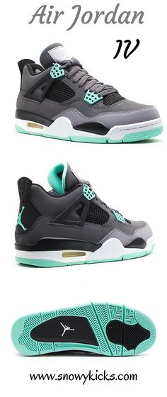 "bbfd0e6b049 The Air Jordan IV ""Green Glow"" were a bomb in the sneaker community when"