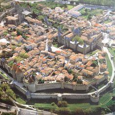 Carcassonne, France - medieval city