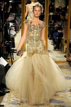 Colecção de vestidos de noiva Outono-Inverno 2012-2013 de Marchesa. #casamento #vestidodenoiva