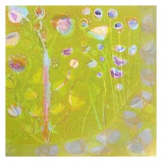 "Sally Bowring, ""Gustav's Garden"", 2012, Acrylic on panel, 42 x 42 inches"