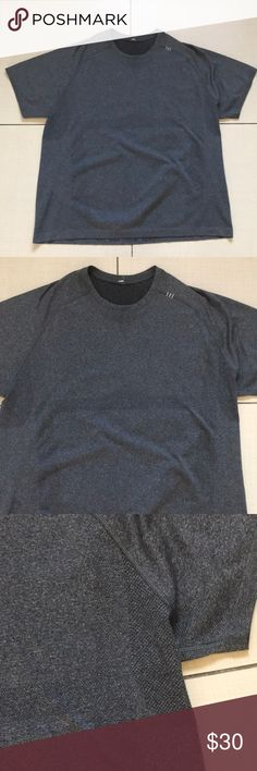 c3309411322 Lululemon shirt Excellent condition size xxl dark gray super clean barely  used lululemon athletica Shirts Tees