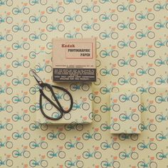 Bikes! Wrapping Paper from The Great NZ Wrapping Paper book.