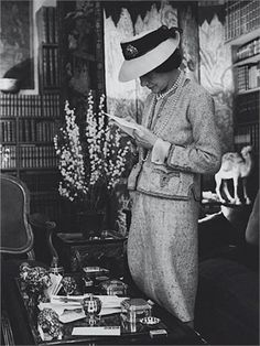 Coco Chanel by Cecile Beaton, 1961