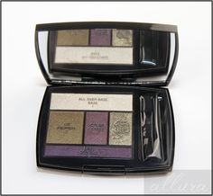 Lancome French Idole Olive Amour Color Design Shadow and Liner Palette Review, Photos, Swatches