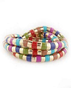 Krasner's Colors Stretch Bracelet