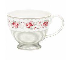 "GreenGate Teetasse ""Teacup Vilma vintage"" groß"