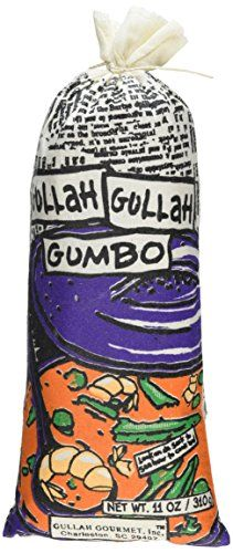 Gullah Gourmet Gumbo is gumbo with a little kick. Just add water to the package and cook. It's great with shrimp, chicken, or sausage! Comes complete with rice and sauce. Serves four. Ideal hostess gift, stocking stuffer, or for most others on your gift list. #StockingStuffer
