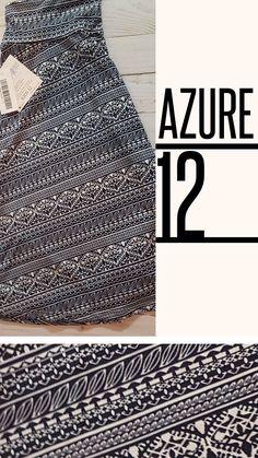 LuLaRoe 12 - Kids Azure  - 12 - $25.0000