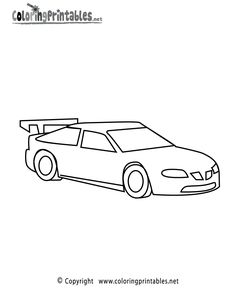 Three Different Race Car Coloring Page Free Printable Coloring