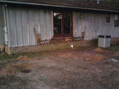Have torn the deck off and starting my screened porch finally. I can't wait.