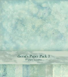 This is a pack of 10 paper textures using blue and yellow fabric dye on watercolor paper. The images are about 2100x3000 pixels each. Rules: Use as you please, wherever you please. You don't need t...