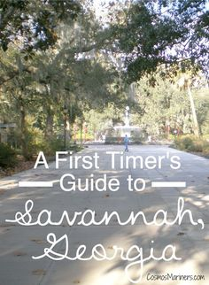 A First-timer's Guide to #Savannah, #Georgia: Where to Visit, Eat, Shop, and Sleep | CosmosMariners.com #travel