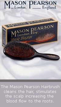 Mason Pearson brush Best quality hair brush with boar bristles, for shiny hair. Used by professionals.