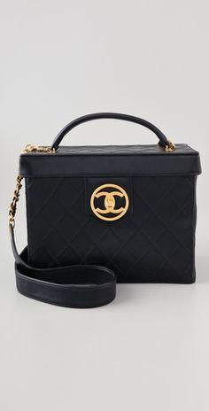 Vintage Chanel Vanity Case
