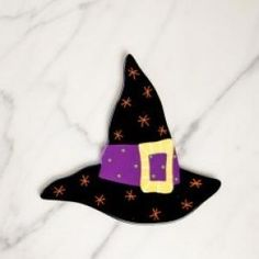 Hats off to the perfect attachment for Halloween. Add the Witch Hat Big Attachment to your scary arsenal this year. Simply Velcro® to a  Happy Everything Big Platter  (our Original size)or any other  Big Base  and you're ready to get Happy!
