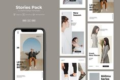 ADL - Stories by adilbudianto on Envato Elements Best Instagram Stories, Instagram Story Template, Ui Ux, Social Networks, Polaroid Film, Packing, Templates, Marketing, Design
