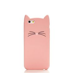 Kate Spade is hitting my crazy cat lady sweet spot. Silicone Cat IPhone 6 Case from Kate Spade.
