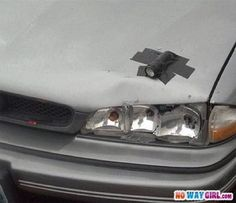 Car Headlight Fail