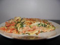 Lasagnes Courgettes Tomate Poulet pour 5pts ww