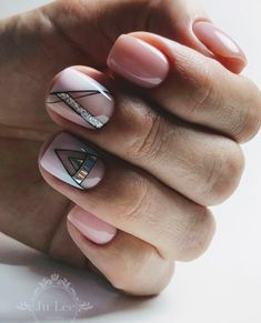 Minimalist Nails, Diy Acrylic Nails, Gel Nails, French Nails, Cute Nails, Pretty Nails, Almond Nails Designs, Glamour Nails, Tribal Nails