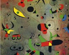 Constellation Awakening at Dawn, 1941 - Joan Miro