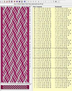 30 tarjetas, 2 colores, repite cada 6 movimientos // sed_431 diseñado en GTT