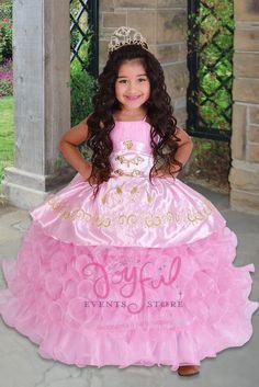 52843ba0d vestidos de nina charra para presentacion de 3 anos FLOWER GIRL DRESS   FGD032PK Girls Dresses
