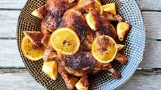 The longer you let these birds soak up the beer, spices, and orange, the better.Ingredients8 servings2 3½–4-pound chickens, backbones removed3 oranges, divided4 12-ounce bottles lager6 tablespoons kosher salt, plus more3 tablespoons Aleppo-style pepper or other mild crushed pepper, plus more for serv