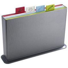 Joseph Joseph Index Advance large Chopping Board Set in silver Contemporary Cutting Boards, Kitchen Accessories, Tech Accessories, Joseph Joseph Chopping Board, Kitchen Must Haves, Kitchen Ideas, Specialty Knives, Kitchen Gadgets, Luxury Houses