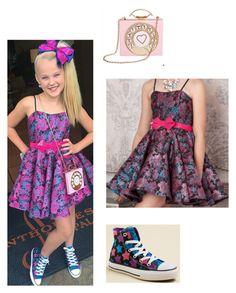 A fashion look from March 2016 Jojo Siwa Bows, Jojo Bows, Classy Outfits, Pretty Outfits, Jojo Siwa Outfits, Jojo Siwa Birthday, Dance Moms Girls, Cute Outfits For Kids, Dance Outfits