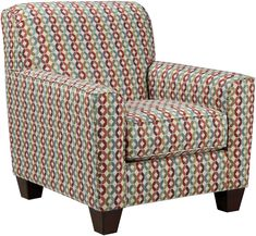 multicolor accent chairs | Affordable Contemporary Fabric Arm Chair in Chicago