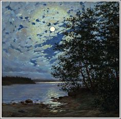 Thure Sundell (1864-1924), Clair de Lune.