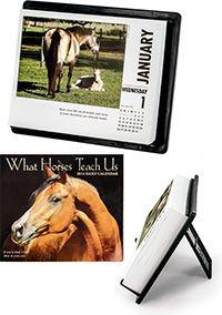 What Horses Teach Us 2014 Desk Calendar at The Veterans Site