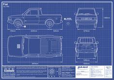 Imagem do desenho do blueprint do Fiat City 147 Fiat, Corel Draw X8, Fiat Abarth, Concept Cars, Ford, City, Design, Blue Prints, Drawings Of Cars