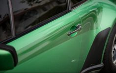 1976 Porsche 930. Finished in Emerald Green Metallic with Turbo Graphics and Tartan Inlays.