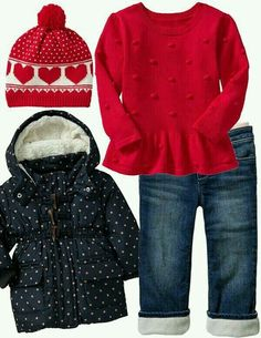 Cute little girl fashion ideal for Fall or Winter. G;)