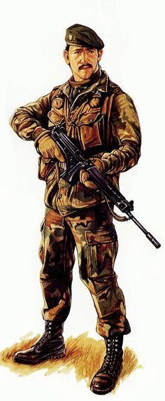 Argentino,compañia de comandos 601,mayo 1982.