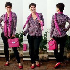 LEILA DINIZ *blog: PINK PINK PINK na camisa hering, na bolsa e no len...