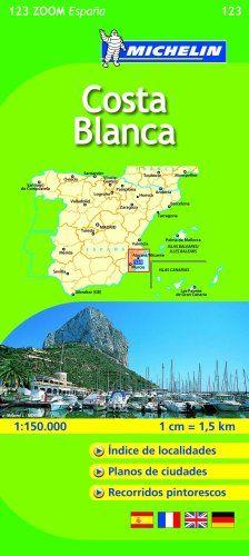Costa Blanca (Michelín Zoom Mapas) (Mapas Zoom Michelin)  #ParquedeVigeland