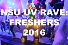 NORTHUMBRIA FRESHERS: UV RAVE! university life students student