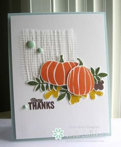 Fall Thanks by abbysmom2198 - Cards and Paper Crafts at Splitcoaststampers