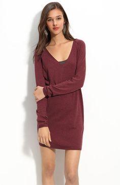 slouchy cotton sweater dress