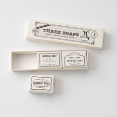 love the simple package design - Apothecary soap