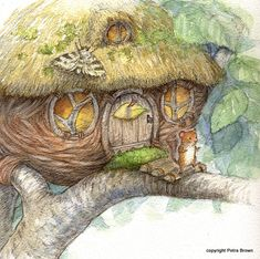 by Petra Brown (Not only could I look at this for hours..  I would happily live here, too.)