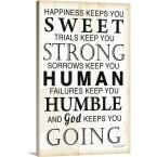 "GreatBigCanvas ""God Keeps You Going"" by Jennifer Pugh Canvas Wall Art, Multi-Color Special Words, Special Quotes, Sign Quotes, Me Quotes, Qoutes, Canvas Signs, Canvas Wall Art, End Of Day Prayer, Yes And Amen"