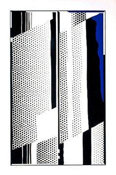 Twin Mirrors [Roy Lichtenstein]