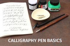Calligraphy Pen Basics from jetpens.